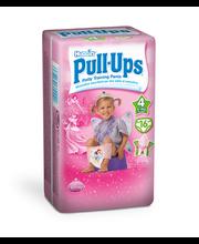 Huggies võõrutusmähkmed Pull-Ups, tüdrukule, 8-15 kg, 16 tk