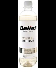 Belief gaseeritud energiavesi pirni maitsega, 530 ml