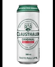 Clausthaler Classic alkoholivaba hele õlu 500 ml