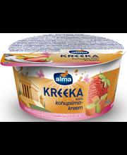 Maasika-rabarberi kreeka kohupiimakreem, 150 g