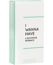 Tualettvesi I Wanna Have Blooming Romance EDT 50 ml
