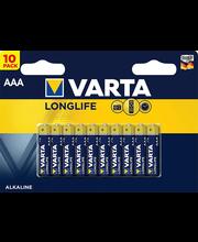 Patareid Longlife AAA LR03 10 tk