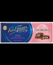 Karl Fazer piimašokolaad Domino küpsisetükkidega 195 g