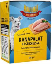 Hau-Hau Champion täiendsööt koertele kanatükid kastmes 375g