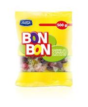 Bon Bon puuviljamaitselised karamellid 500 g