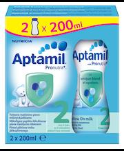 Aptamil 2 jätkupiimajook 2 x 200 ml, alates 6-elukuust