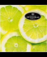 Salvrätik 25cm Lemons  20 tk