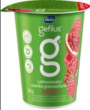 Vaarika-granaatõuna jogurt, 380 g