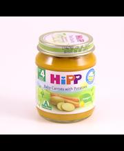 Hipp porgandi-kartulipüree 125g, alates 4-elukuust