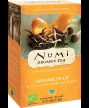 Valge tee kofeiinivaba, apelsini 16 x 2,8 g, Organic