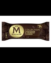 Shokolaadijäätis küpsisetükkidega 90ml