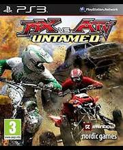 PS3 mäng MX vs ATV Untamed