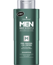 Shampoon Cool menthol+oil 250 ml meestele
