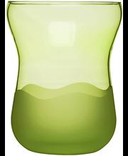 Vaas Aqua, roheline, klaas