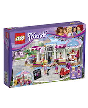 Lego Friends Heartlake'i keeksikohvik 41119
