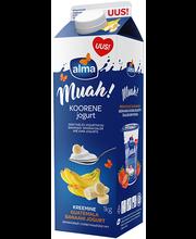 Muah banaani koorene jogurt, 1 kg
