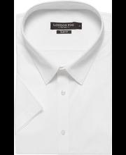 Meeste pluus lühikeste varrukatega, valge XL slim