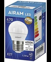 LED-lamp 5,5W E27, 4000K 470LM