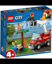 60212 City Fire Grilli läbipõletamine