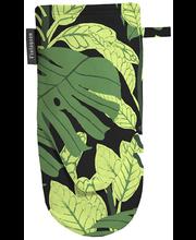 Pajankinnas Bunaken 15 x 30 cm, must/roheline 100% puuvill