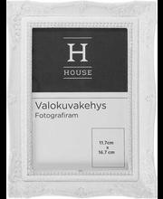 Pildiraam House, 16,5 × 21,5 cm, valge