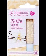 Huulepalsam Benecos Natural Vanilla 4,8 g