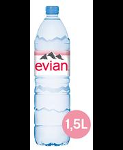 Evian looduslik mineraalvesi 1,5 l