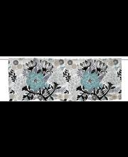 ülakardin manteli valance 60x250 cm sinine