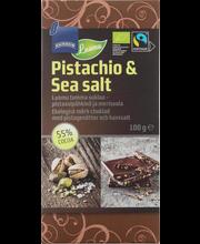 Tume šokolaad pistaatsia 100 g