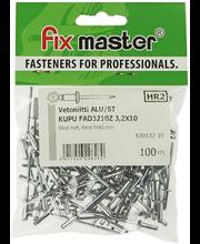 Fixmaster neet, 3,2 x 10 mm, 100 tk