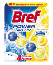 Bref Power Aktiv Lemon WC-värskendaja 50 g