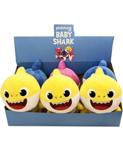 pehme mänguasi baby shark sound family
