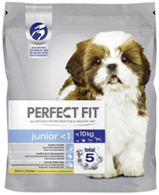 Perfect Fit Junior täissööt kutsikatele kanalihaga, 825 g