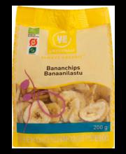 Urtekram banaanilaastud 200 g