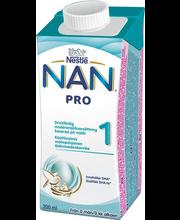 Nan Pro 1 piimajook 200 ml, alates sünnist
