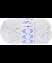 Lõng  Perfect Cotton100 g, nat.valge