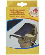 Päiksekaitse lapsevankrile, t.sinine