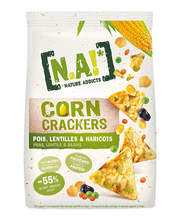 N.A! maisisnäkid herneste, läätsede ja ubadega 50 g mahe, vegan,gluteenivaba