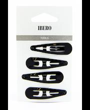 Ibero juukseklambrid 4 tk