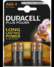 Patareid AAA Plus Power LR6, 4 tk