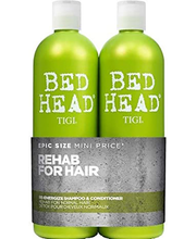 TIGI Bed Head Re-Energize Tween Set: shampoon 750ml & palsam 750ml