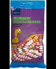 Rainbow puuviljamaitseline kommikett 130 g