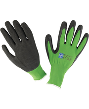 Töökindad nailon/lateks roheline 7