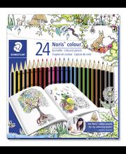 Värvipliiatsid 24 värvi Noris Color