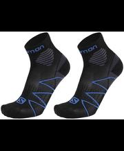 Meeste jooksusokid 2-paari 18R2318, must/sinine 45-47