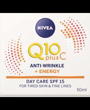 Päevakreem energy c-vitamiiniga 50ml q10
