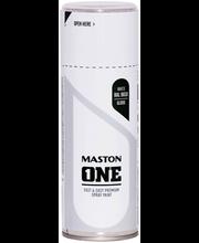Akrüülvärv One Spray 400ml RAL 9010 valge