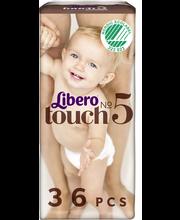 Libero püksmähkmed Touch 5, 10-14 kg, 36 tk
