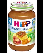 Hipp Spaghetti Bolognese 190 g, öko, alates 4-elukuust