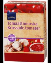 Purustatud tomat küüslauguga 370 g